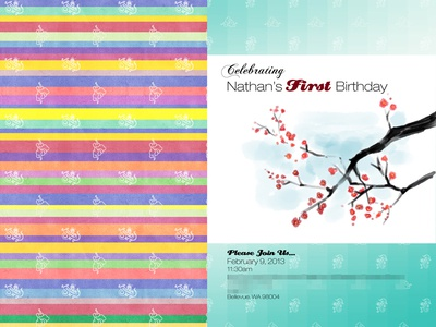 Saekdong korean birthday invitation pt 2 by spwrinkle dribbble saekdong korean birthday invitation pt 2 filmwisefo