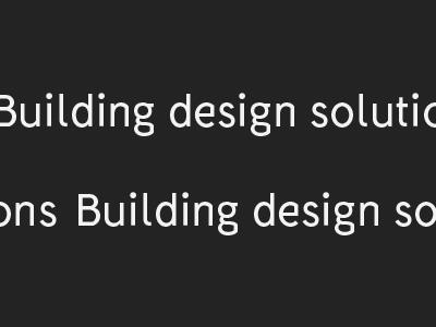 Fabrik Typeface - BDS