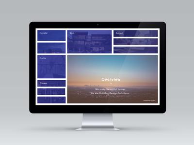 Menu Concept for freelance Client