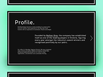 Profile page - BDS