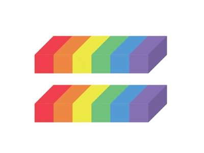 Equality tyler hendy nice positive equal rainbow poster political equality