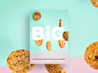 Big Biscuits Poster tyler hendy big biscuits pink blue bright poster study case hendy tyler biscuits big