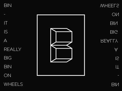 logo concept for a new big bin company