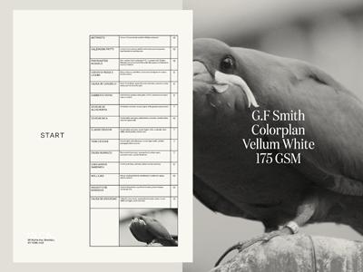 Menu design for INCA restaurant tyler hendy tables design menu inca