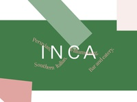 INCA - flat colour experiment