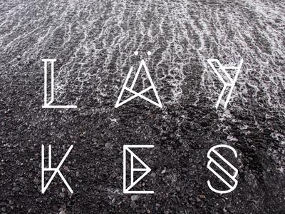 LÄYKES // Typography