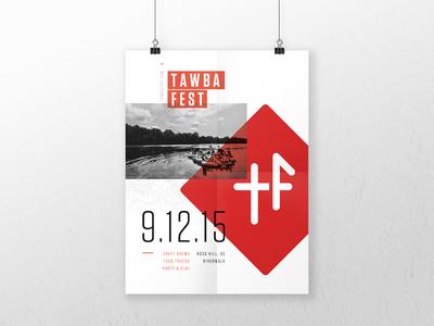Tawba Fest Poster tawbafest event outdoor fest print poster