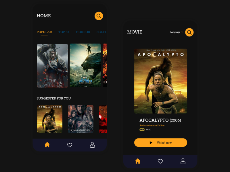 025 Daily UI - TV App