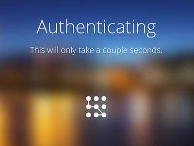 App UI - Authentication