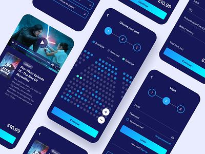 Playrcart App player application design app design ios shopping ecommerce video player application app