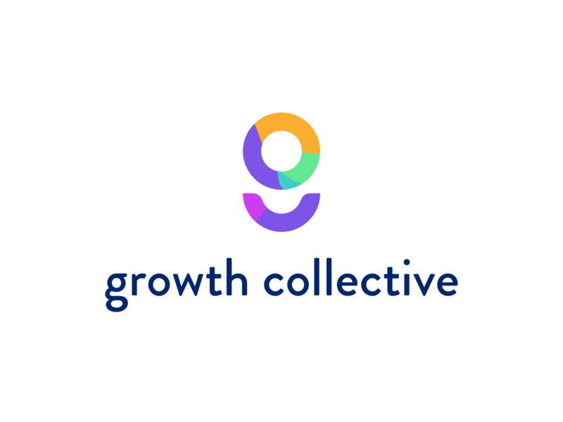 Growth collective startup brand identity identity branding logo brand