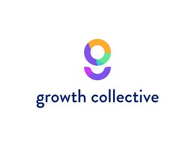 Growth collective startup brand identity identity branding logo brand