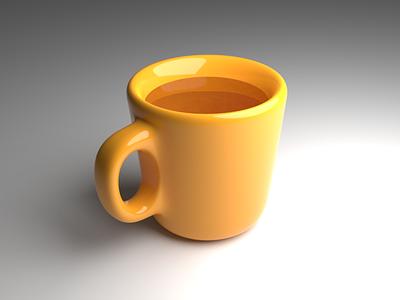 Cup 3dblender 3d art 3d blender