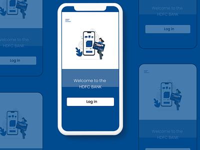 Hdfc bank ui ux application app design app product design ui