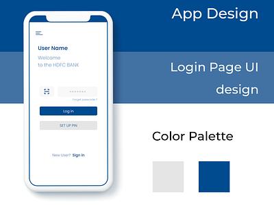 Hdfc Bank ui ui design socialmedia branding ux application app design design app ui