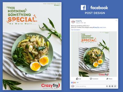 Recipe Banner Facebook