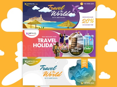 Airtravel Facebook Cover Design