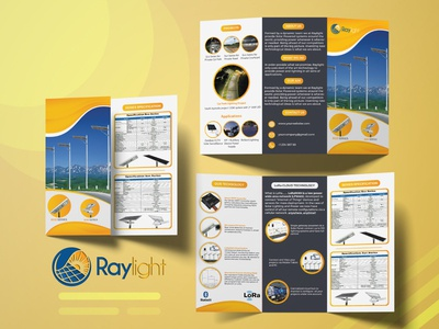 Raylight Tri-fold Brochure Design