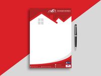Property Letterhead Design