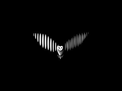 Owl branding logotype vector bird abstract lines minimal simple creative owl logo owl