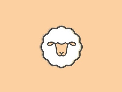 Sheep Icon By Stefan Ivankovic