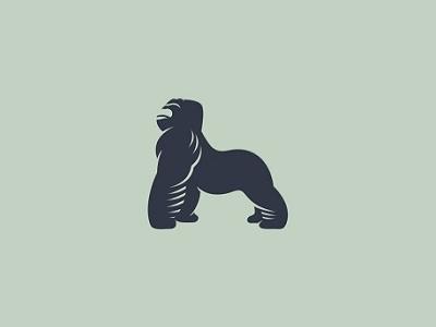 Gorilla monkey creative design harambe logotype logo animal ape gorilla