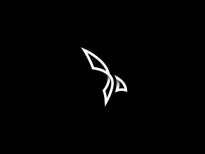 Eagle design logo hawk bird eagle lines art abstract minimal