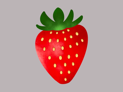 Strawberry illustration illustrations