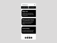 UX Glossary Mobile Look