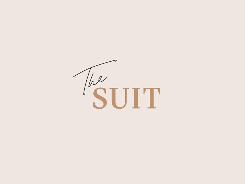 The SUIT vector design logo brand design branding identity design identity logotype mark symbol typography minimalism lettering minimalist logo