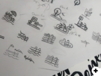 Residential Icons Sketch