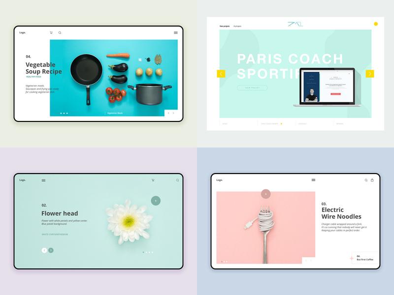 MyTop2018 top dribbble challenge interface minimalist ux ui design