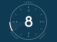 "WIP - Coffee Flavor ""Clock"""