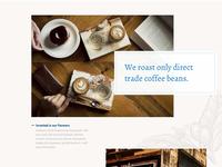 WIP – Coffee Roaster Homepage
