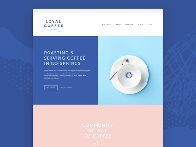 Loyal Coffee – Home Preview loyal home shopify ecommerce colorado roastery coffee