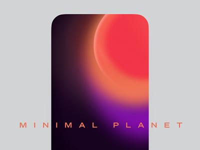 Colorful Spacial Wallpapers galaxy geometric violet orange dark night 80s sunset sun print phone vector illustration spacial gradient planets minimal space wallpaper iphone