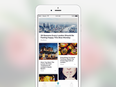 News feed concept vol. 2 feed post news ux ui mobile app