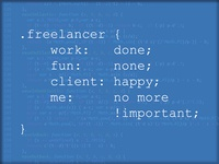 Freelancer Life In Css