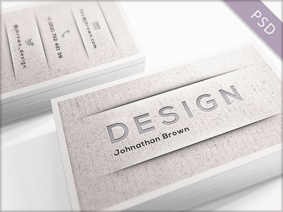 15 Clean and Minimal Business Cards Collection - Part 2