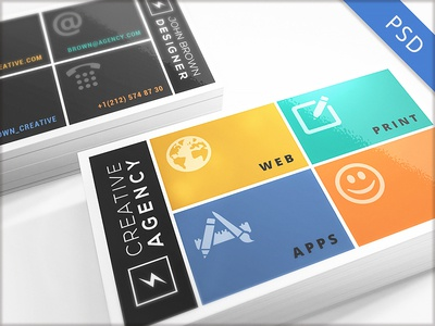 15 Clean and Minimal Business Cards Collection - Part 3