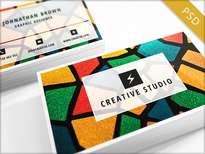 15 Clean and Minimal Business Cards Collection - Part 4