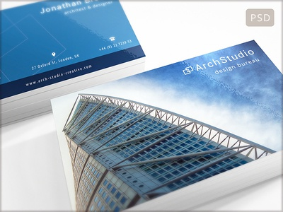 15 Clean and Minimal Business Cards Collection - Part 8