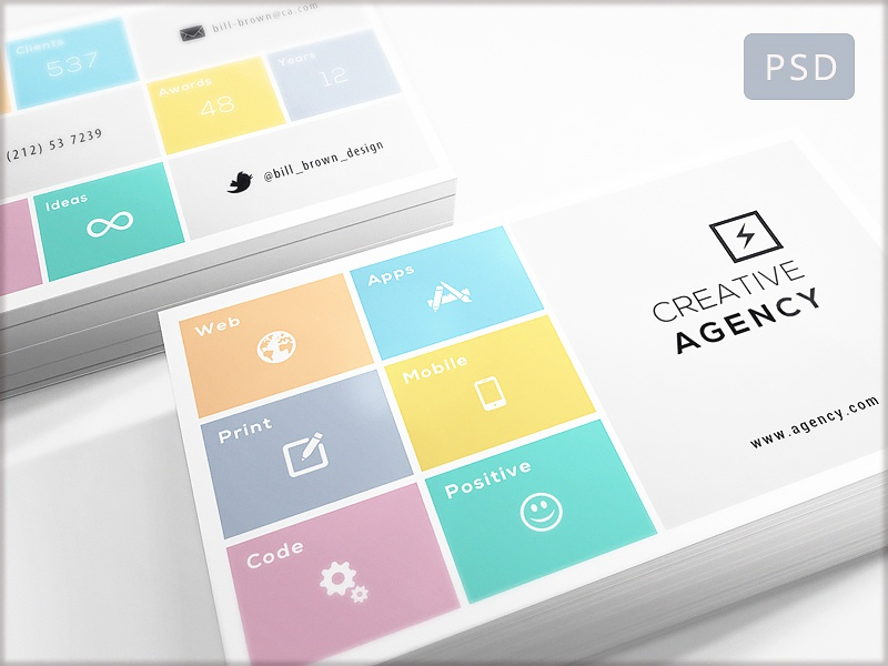 15 Clean and Minimal Business Cards Collection - Part 10 by Digital ...