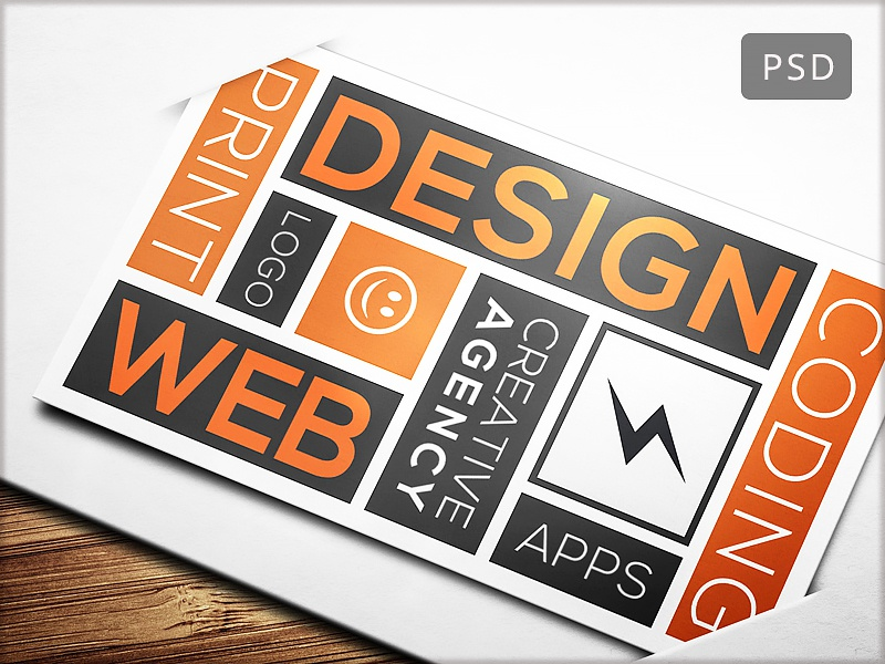 15 clean and minimal business cards collection   part 12