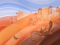 The Golden Lizard