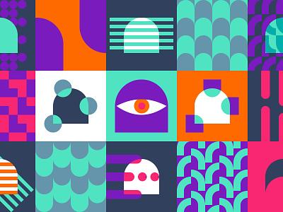 Soon come... branding design aula app ui web vector colours vibrant logo patterns shapes ui ux design ui ux product design illustration visual npm design system