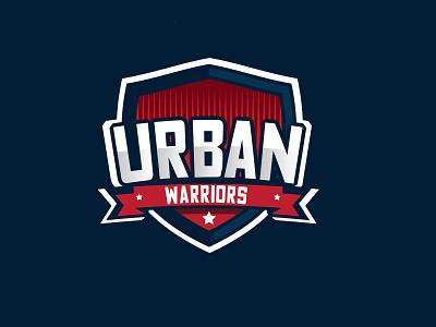 Sports_logo_design warriors urban design shots dribbble artist ux ui artwork simple typography illustration vector flatdesign design