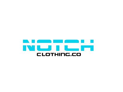 Logo Design For Notch Clothing brand identity clothing design clothing brand icon simple artist logos typography vector branding design flatdesign logo