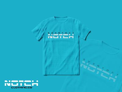 T-Shirt Design For Notch Clothing online clothes clothing brand tshirtdesign thanks dribbble typography branding logos logo artwork simple illustration flatdesign design