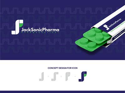 PharmaLogo artist icon typography vector illustration creative logo logodesign logotype concept creative design pharma branding logo